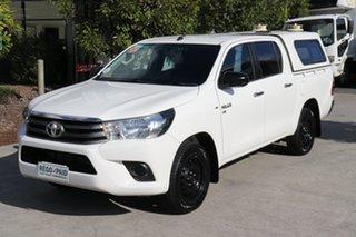 2016 Toyota Hilux GGN120R SR Double Cab 4x2 Glacier 6 speed Automatic Utility.