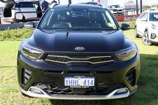 2021 Kia Stonic YB MY21 GT-Line DCT FWD Aurora Black 7 Speed Sports Automatic Dual Clutch Wagon