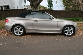 2008 BMW 1 Series E88 120i Grey 6 Speed Automatic Convertible