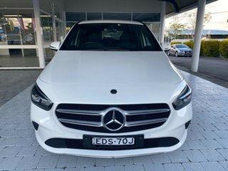 2019 Mercedes-Benz B-Class B180 White Sports Automatic Dual Clutch Hatchback.