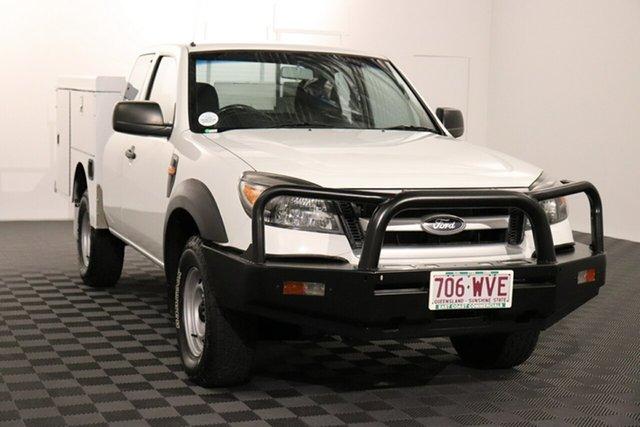 Used Ford Ranger PK XL Acacia Ridge, 2011 Ford Ranger PK XL White 5 speed Manual Cab Chassis