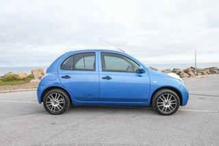 2008 Nissan Micra K12 Blue 4 Speed Automatic Hatchback.