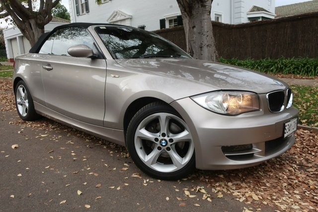 Used BMW 1 Series E88 120i Prospect, 2008 BMW 1 Series E88 120i Grey 6 Speed Automatic Convertible