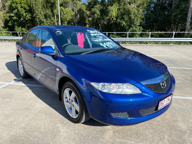 Used Mazda 6 GG Classic Morayfield, 2004 Mazda 6 GG Classic Blue 4 Speed Auto Activematic Hatchback