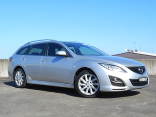2012 Mazda 6 GH1052 MY12 Touring Silver 5 Speed Sports Automatic Wagon.