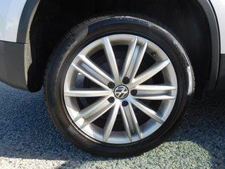 2010 Volkswagen Tiguan 5N MY11 103TDI DSG 4MOTION Silver 7 Speed Sports Automatic Dual Clutch Wagon