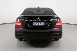 2013 Mercedes-Benz C63 W204 MY13 AMG Black 7 Speed Automatic G-Tronic Coupe