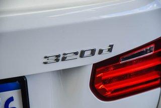 2013 BMW 320d F30 Sport Line White 8 Speed Automatic Sedan