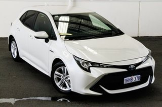 2020 Toyota Corolla ZWE211R Ascent Sport E-CVT Hybrid Crystal Pearl 10 Speed Constant Variable.