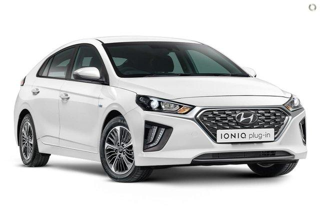 New Hyundai Ioniq AE.V4 MY21 plug-in DCT Elite Oakleigh, 2021 Hyundai Ioniq AE.V4 MY21 plug-in DCT Elite White 6 Speed Sports Automatic Dual Clutch Fastback