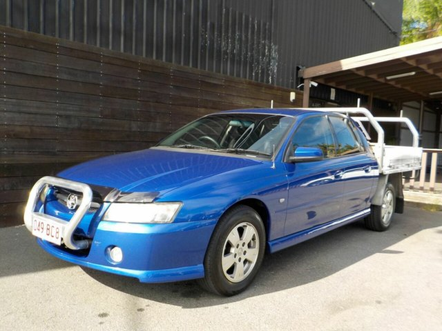 Used Holden Crewman VZ MY06 S Labrador, 2006 Holden Crewman VZ MY06 S Blue 4 Speed Automatic Utility