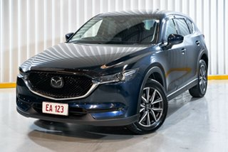2017 Mazda CX-5 KE1022 Akera SKYACTIV-Drive i-ACTIV AWD Blue 6 Speed Sports Automatic Wagon.