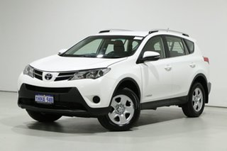 2014 Toyota RAV4 ALA49R MY14 Upgrade GX (4x4) White 6 Speed Automatic Wagon.