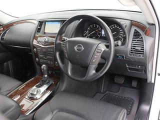 2020 Nissan Patrol Y62 Series 5 MY20 TI (4x4) White 7 Speed Automatic Wagon