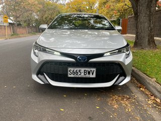 2018 Toyota Corolla ZWE211R Ascent Sport E-CVT Hybrid Silver 10 Speed Constant Variable Hatchback