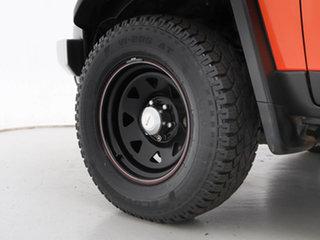 2012 Toyota FJ Cruiser GSJ15R Orange 5 Speed Automatic Wagon