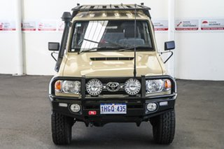 2019 Toyota Landcruiser VDJ79R GXL Double Cab Sandy Taupe 5 Speed Manual Cab Chassis