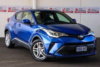 2020 Toyota C-HR NGX50R S-CVT AWD Nebula Blue 7 Speed Constant Variable Wagon.
