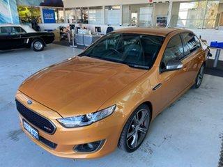 2015 Ford Falcon FG X XR8 Victory Gold 6 Speed Sports Automatic Sedan.