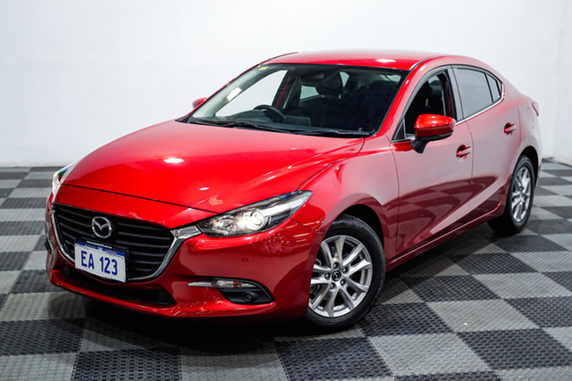Used Mazda 3 BM5276 Maxx SKYACTIV-MT Edgewater, 2016 Mazda 3 BM5276 Maxx SKYACTIV-MT Red 6 Speed Manual Sedan