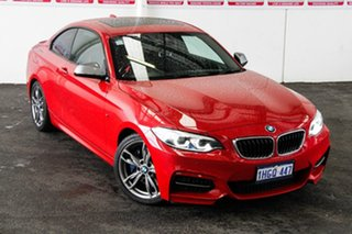 2017 BMW M240i F22 MY18 M240I Red 8 Speed Automatic Coupe.