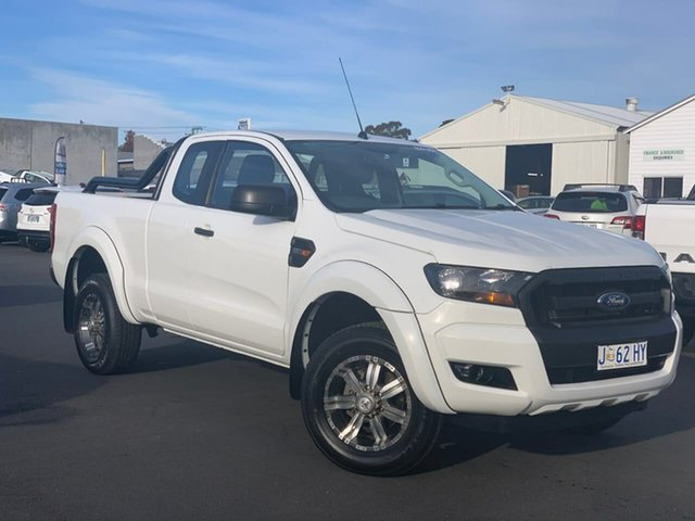 Used Ford Ranger PX MkII XL Hi-Rider Moonah, 2015 Ford Ranger PX MkII XL Hi-Rider White 6 Speed Sports Automatic Cab Chassis