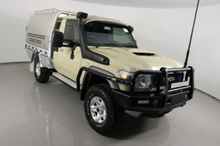 2019 Toyota Landcruiser VDJ79R GXL (4x4) Sandy Taupe 5 Speed Manual Cab Chassis