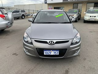 2012 Hyundai i30 FD MY12 SX Silver 4 Speed Automatic Hatchback.