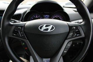 2013 Hyundai Veloster FS2 SR Coupe Turbo White 6 Speed Sports Automatic Hatchback
