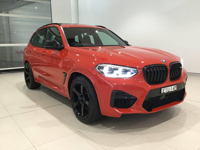 Used BMW X3 M F97 Competition M Steptronic M xDrive Alexandria, 2019 BMW X3 M F97 Competition M Steptronic M xDrive Toronto Red/leather 8 Speed Sports Automatic