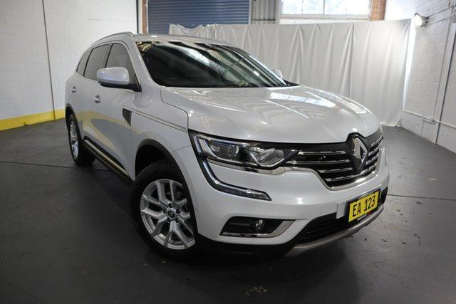 Used Renault Koleos HZG Zen X-tronic Castle Hill, 2018 Renault Koleos HZG Zen X-tronic White 1 Speed Constant Variable Wagon