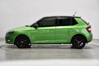 2016 Skoda Fabia NJ MY16 81TSI DSG Green 7 Speed Sports Automatic Dual Clutch Hatchback.