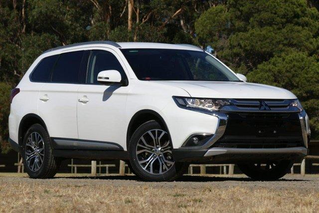 Used Mitsubishi Outlander ZL MY18.5 LS AWD Clare, 2018 Mitsubishi Outlander ZL MY18.5 LS AWD White 6 Speed Sports Automatic Wagon