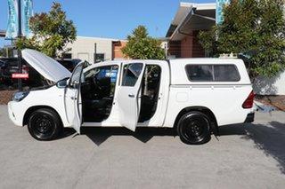 2016 Toyota Hilux GGN120R SR Double Cab 4x2 Glacier 6 speed Automatic Utility