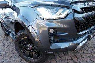 2021 Isuzu D-MAX RG MY21 X-Terrain (4x4) Obsidian Grey 6 Speed Auto SEQ Sports Mode Crew Cab Utility.