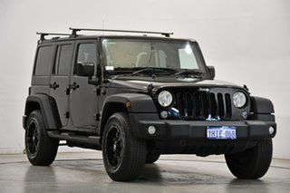 2018 Jeep Wrangler JK MY18 Unlimited Sport Black 5 Speed Automatic Softtop