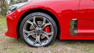 2018 Kia Stinger CK MY19 GT Fastback Red 8 Speed Sports Automatic Sedan