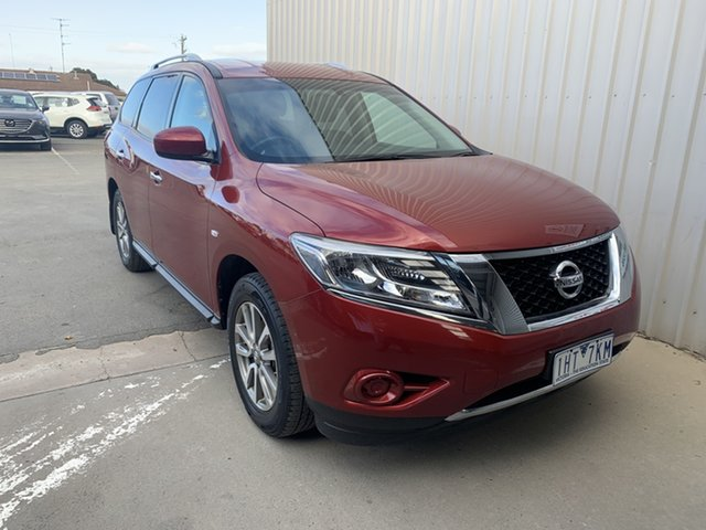 Used Nissan Pathfinder R52 MY15 ST X-tronic 2WD Horsham, 2016 Nissan Pathfinder R52 MY15 ST X-tronic 2WD 1 Speed Constant Variable Wagon
