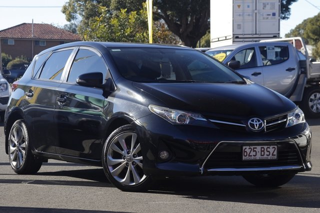 Used Toyota Corolla ZRE152R MY11 Levin SX Toowoomba, 2012 Toyota Corolla ZRE152R MY11 Levin SX Black 6 Speed Manual Hatchback