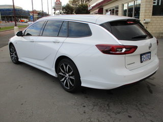 2018 Holden Commodore ZB RS Sportswagon White 9 Speed Automatic Sportswagon.