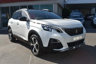 2018 Peugeot 3008 P84 MY18 GT Line SUV White 6 Speed Sports Automatic Hatchback