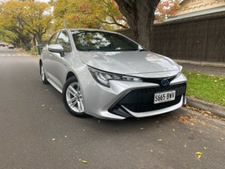 2018 Toyota Corolla ZWE211R Ascent Sport E-CVT Hybrid Silver 10 Speed Constant Variable Hatchback.