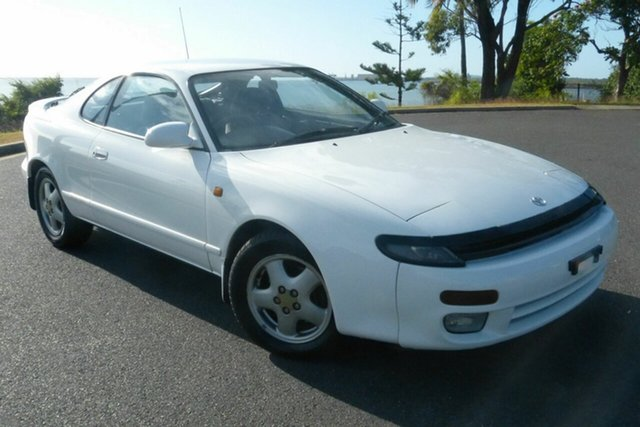Used Toyota Celica ST184R SX Gladstone, 1991 Toyota Celica ST184R SX White 5 Speed Manual Liftback