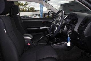 2013 Toyota Hilux KUN26R MY12 SR5 Xtra Cab Black 5 Speed Manual Utility