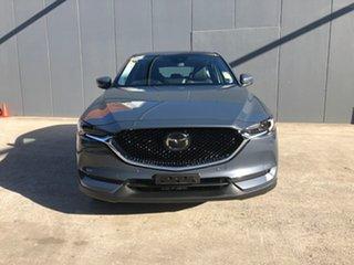 2021 Mazda CX-5 KF4WLA GT SKYACTIV-Drive i-ACTIV AWD Polymetal Grey 6 Speed Sports Automatic Wagon.