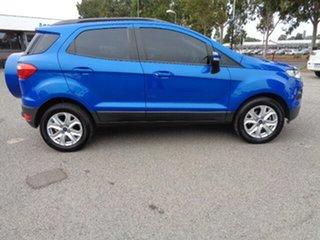2016 Ford Ecosport BK Trend PwrShift Blue 6 Speed Sports Automatic Dual Clutch Wagon.