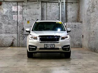 2016 Subaru Forester S4 MY17 2.5i-S CVT AWD White 6 Speed Constant Variable Wagon.