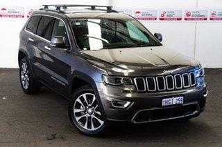 2018 Jeep Grand Cherokee WK MY18 Limited (4x4) Grey 8 Speed Automatic Wagon.