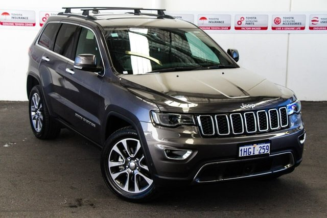 Pre-Owned Jeep Grand Cherokee WK MY18 Limited (4x4) Rockingham, 2018 Jeep Grand Cherokee WK MY18 Limited (4x4) Grey 8 Speed Automatic Wagon