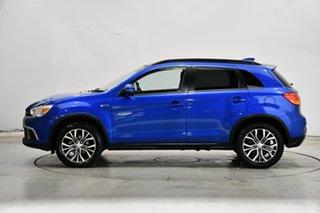 2017 Mitsubishi ASX XC MY18 XLS Blue 6 Speed Sports Automatic Wagon.